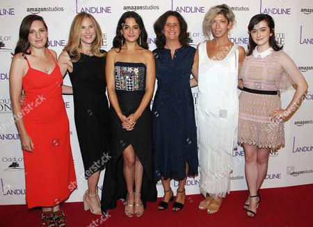 Gillian Robespierre, Rachel Shane (Producer), Jenny Slate, Gigi Pritzker (Producer), Elisabeth Holm and Abby Quinn