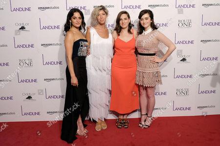 Jenny Slate, Elisabeth Holm, Gillian Robespierre and Abby Quinn