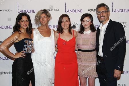 Jenny Slate, Elisabeth Holm, Gillian Robespierre, Abby Quinn and John Turturro