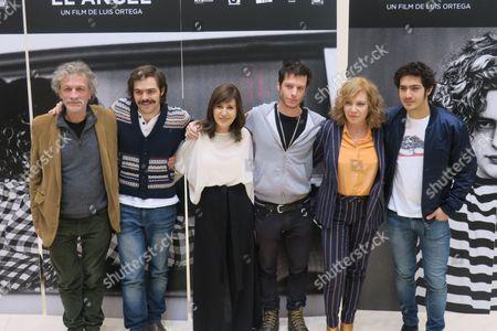 Editorial photo of Argentinian film El Angel press conference, Buenos Aires, Argentina - 18 Jul 2017