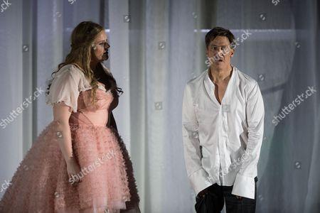 Tobias Moretti and Stefanie Reinsperger