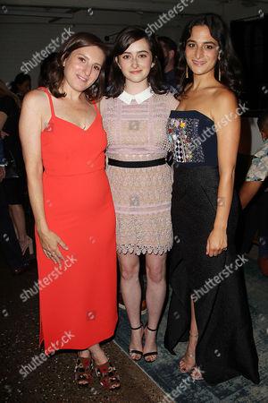 Gillian Robespierre, Abby Quinn and Jenny Slate
