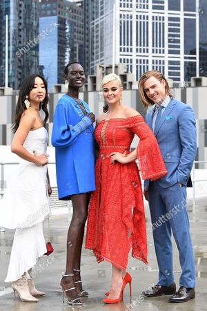 Editorial picture of Melbourne Spring Fashion Week launch, Australia - 19 Jul 2017