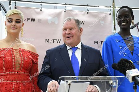 Ajak Deng, Stefania Ferrario and Robert Doyle