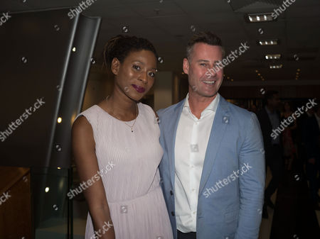Sarah Alexander and Tim Vincent