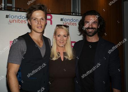 Dan Olsen, Friederike Krum and Christian Vit