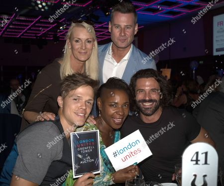 Dan Olsen, Friederike Krum, Sonique, Tim Vincent and Christian Vit