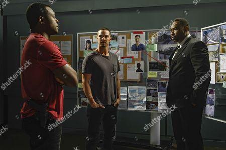 Stock Image of Lyriq Bent, Jay Ryan, Benz Antoine