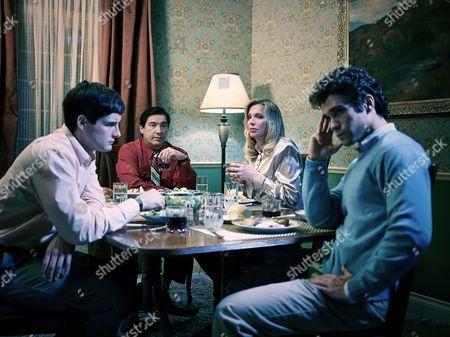 Stock Picture of Nico Tortorella, Benito Martinez, Courtney Love, Myko Olivier
