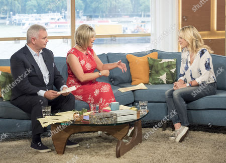 Eamonn Holmes and Ruth Langsford with Emily Clarkson