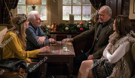 Ep 7706  Boxing Day 2016 Ronnie, as played by John McArdle, feels self-conscious about the flashy watch Lawrence White, as played by John Bowe, got him for Christmas. Lawrence feels bad when Ronnie admits the watch is a bit much.
