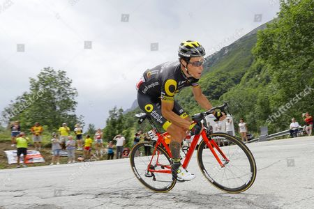 Direct Energie team rider Sylvain Chavanel of France in action during the 17th stage of the 104th edition of the Tour de France cycling race over 183km between La Mure and Serre Chevalier, France, 19 July 2017.