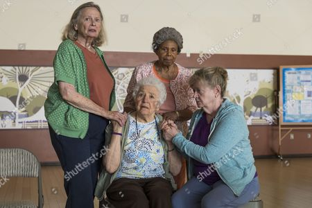 Bonnie Bartlett, Jean Effron, Phyllis Applegate, Carol Mansell