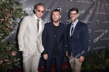 Editorial image of 'Manhunt: Unabomber' TV show premiere, Arrivals, New York, USA - 19 Jul 2017