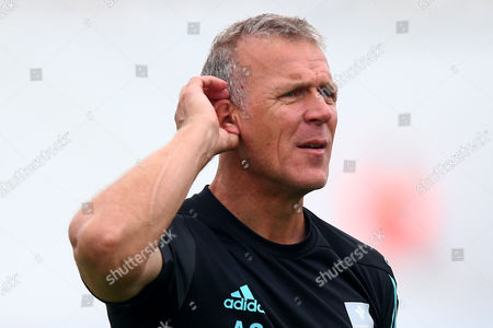 Alec Stewart of Surrey looks on ahead of Surrey vs Essex Eagles, NatWest T20 Blast Cricket at the Kia Oval on 19th July 2017