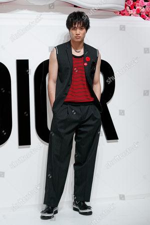 Editorial photo of 'Dior for Love' photocall, Terrada Warehouse, Tokyo, Japan - 19 Jul 2017