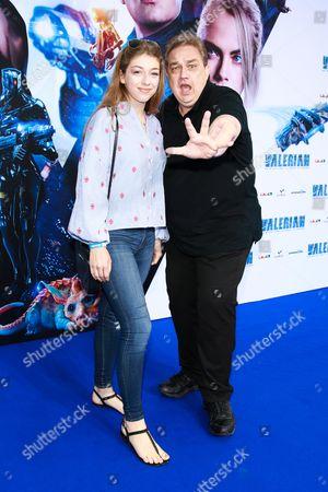 Oliver Kalkofe with Tochter Celina