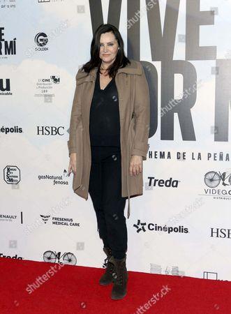 Editorial photo of 'Vive Por Mi' film premiere, Mexico City, Mexico - 18 Jul 2017