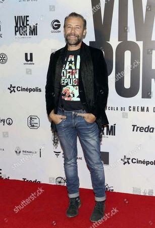 Editorial image of 'Vive Por Mi' film premiere, Mexico City, Mexico - 18 Jul 2017