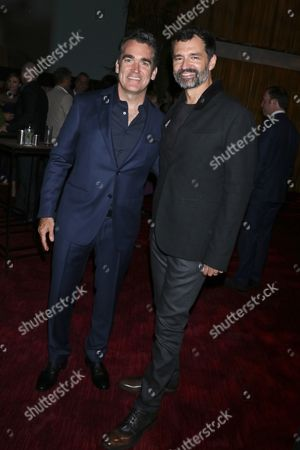 Brian d'Arcy James and Greg Yaitanes