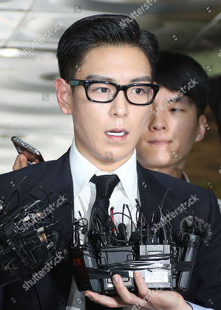 Editorial photo of South Korean rapper TOP given suspended term for marijuana use, Seoul, Korea - 20 Jul 2017