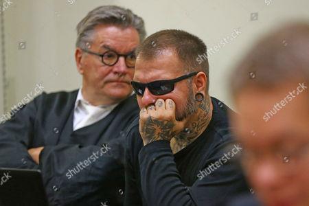 Stock Image of Co-defendant Andre Eminger