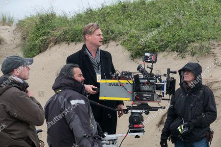 Stock Photo of Christopher Nolan, Hoyte Van Hoytema