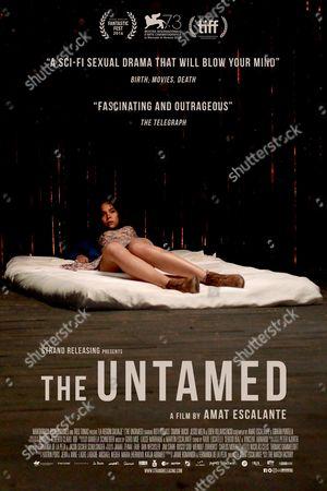 Stock Image of The Untamed (2016) Poster Art. Simone Bucio