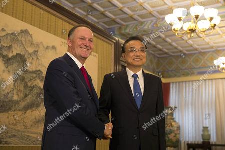 John Key and Li Keqiang