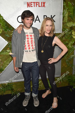 Lisa Emery and son Zane Pais