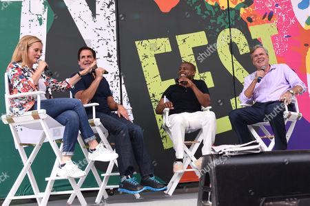 Samantha Bee, Mark Cuban, Carlos Watson, Jeb Bush