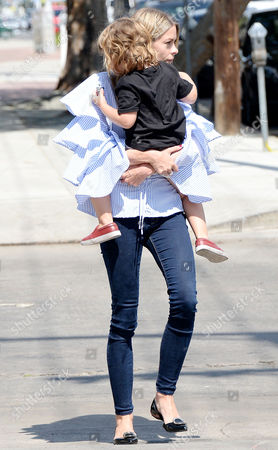 Jaime King and son James Knight Newman