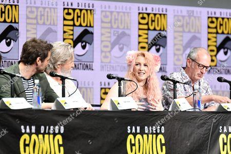Editorial photo of 'Kingsman: The Golden Circle' film panel, Comic-Con International, San Diego, USA - 20 Jul 2017