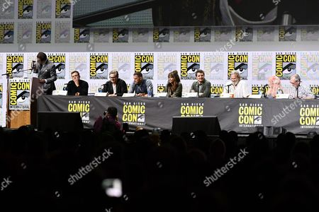 Editorial image of 'Kingsman: The Golden Circle' film panel, Comic-Con International, San Diego, USA - 20 Jul 2017