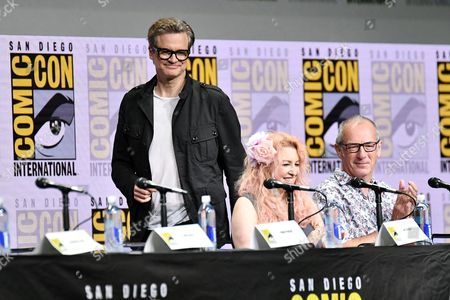 Colin Firth, Jane Goldman and Dave Gibbons