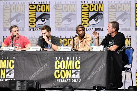 Jeff Davis, Dylan Sprayberry, Khylin Rhambo and Linden Ashby