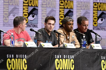 Stock Image of Jeff Davis, Dylan Sprayberry, Khylin Rhambo and Linden Ashby