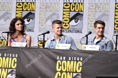 Editorial photo of 'Teen Wolf' TV show panel, Comic-Con International, San Diego, USA - 20 Jul 2017