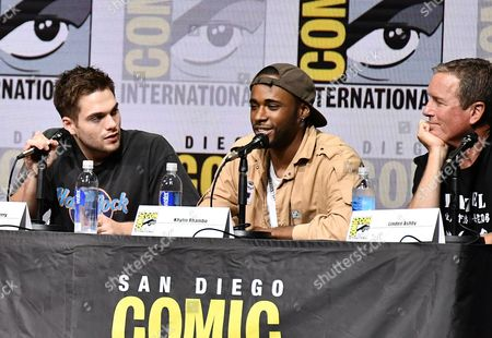 Dylan Sprayberry, Khylin Rhambo and Linden Ashby