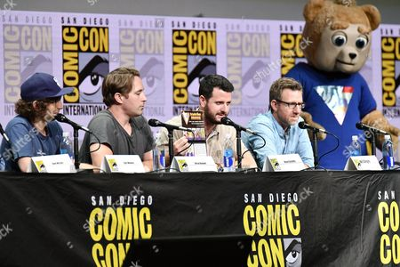 Kyle Mooney, Beck Bennett, Kevin Costello, Will Allegra and Brigsby Bear