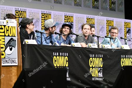 Jorma Taccone, Dave McCary, Kyle Mooney, Beck Bennett, Kevin Costello and Will Allegra
