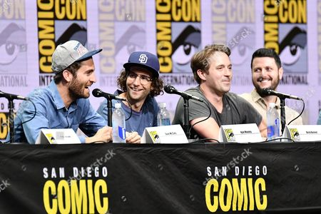 Dave McCary, Kyle Mooney, Beck Bennett and Kevin Costello