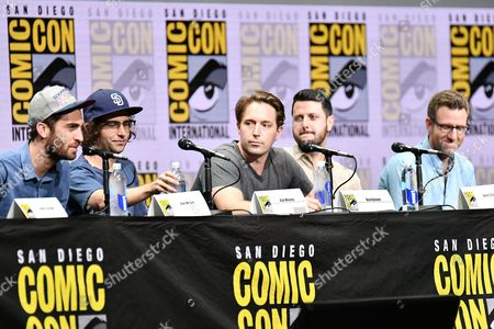 Dave McCary, Kyle Mooney, Beck Bennett, Kevin Costello and Will Allegra