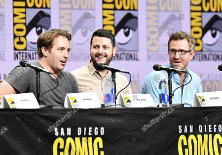 Beck Bennett, Kevin Costello and Will Allegra