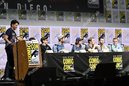 Anthony Breznican, Jorma Taccone, Dave McCary, Kyle Mooney, Beck Bennett, Kevin Costello and Will Allegra