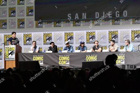 Anthony Breznican, Akiva Schaffer, Jorma Taccone, Dave McCary, Kyle Mooney, Beck Bennett, Kevin Costello and Will Allegra