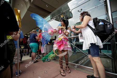 Editorial picture of Comic Con, San Diego, USA - 20 Jul 2017
