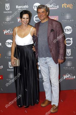 Stock Picture of Blanca Lewin and David Miranda