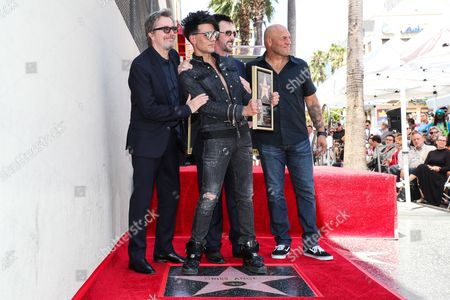 Editorial picture of Criss Angel Honored with a Star on the Hollywood Walk of Fame, Los Angeles, USA - 20 Jul 2017