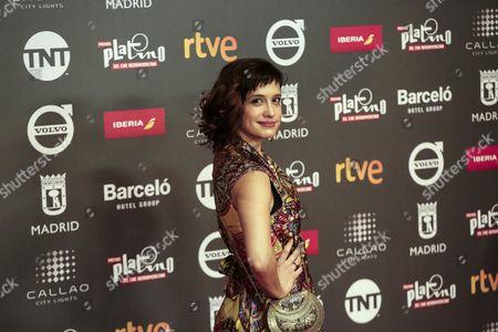 Editorial image of Platino Awards presentation party in Madrid, Spain - 20 Jul 2017